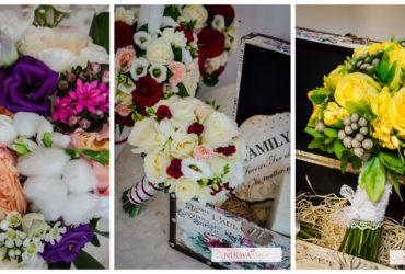 8 Sfaturi pentru alegerea florilor de nuntă și a buchetului de mireasă