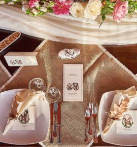 5 Idei pentru un decor inedit al mesei de prezidiu