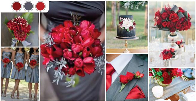 6 super combinații de culori ideale pentru nunțile din 2017